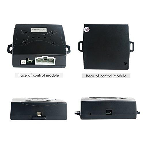 EASYGUARD EC004 Smart Rfid Car Alarm system Push Engine ...