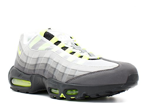 Nike Air Max 95 OG Mens Black Volt Medium Ash Dark Pewter