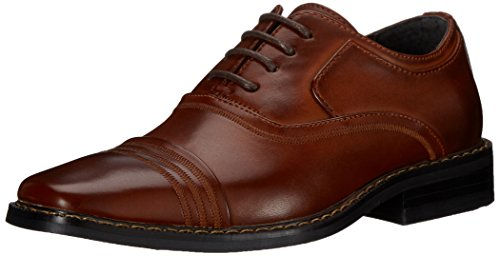 STACY ADAMS Bingham - Boys - K, Cognac, 3 M US Little Kid]()