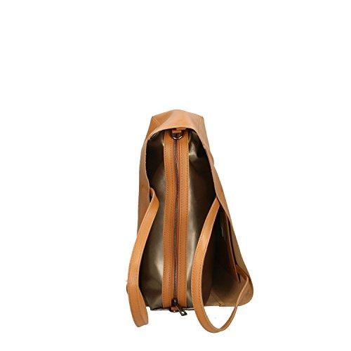 en 38x30x12 Sac Cm véritable Chicca à Italie fabriqué Borse cuir main Cuir Femme en PqWPgAwZX