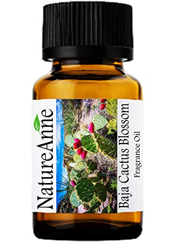 Baja Cactus Blossom (Type) Premium Grade Fragrance Oil - 10ml - Scented Oil - for Diffuser Oils, Making Soap, Candles, Lotion, Home Scents, Linen Spray, Lotion, Perfume, Beard ()