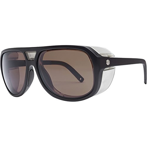 Electric Visual Stacker Matte Black/OHM+Polarized Rose Sunglasses by Electric