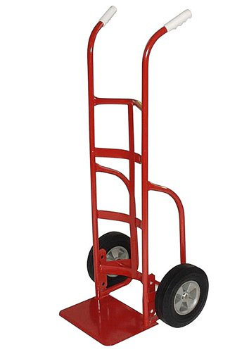 Milwaukee Hand Trucks 33025 Heavy Duty Dual Handle Truck with 10-Inch Puncture Proof Tires