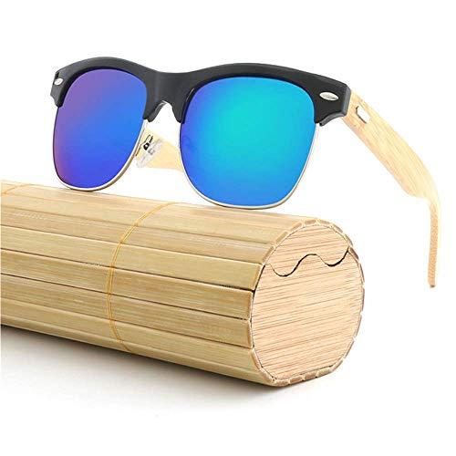 Lunettes de Bois ZhongYi D Sourcil Soleil Crapaud Couleur métal Bambou Film Frame en q6pOqwn0