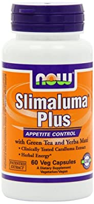 NOW Slimaluma Plus,60 Veg Capsules