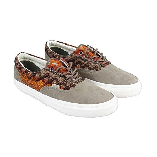 Vans Era DX Suede/Knit Walnut Womens Classic Skate Shoes Size 8.5 XZ2nBT3gtq