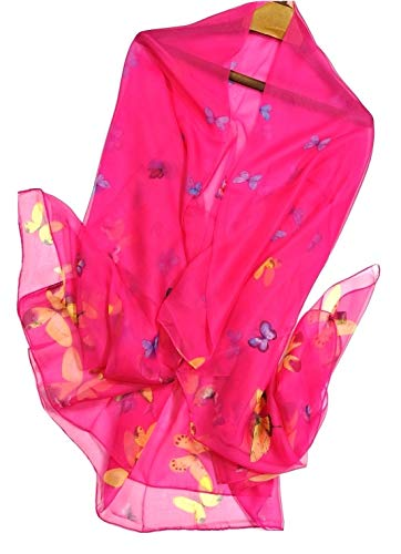Shanlin Super Large Silk Feel Floral Scarves for Women in Gift Box ()