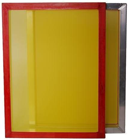 4-Pack 25x36 196 tpi Yellow Mesh Aluminum Frame Screen Printing Screens