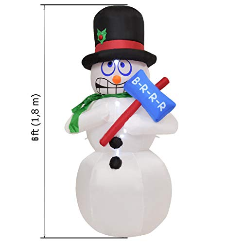 Led Snowman Outdoor Lights Figures in US - 4