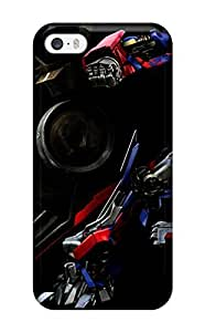 Awesome Optimus Prime Flip Case With Fashion Design For Iphone 5/5s