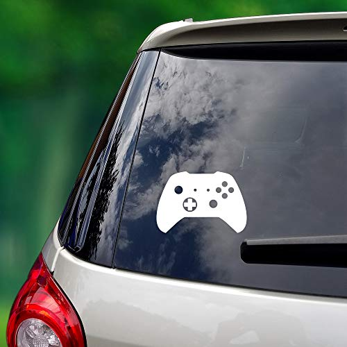 The Vinyl Initiative XB Video Game Controller – Multi-Use Vinyl Decal (Cars/Laptop/Home) – 5 x 5