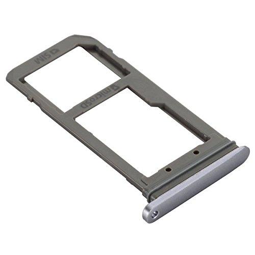 BisLinks® Nueva Negro con Tarjeta SIM + SD Memory Tarjeta Lector Soporte Para Samsung Galaxy S7 Edge