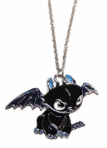 Toothless Night Fury Costumes (How to Train Your Dragon Toothless Night Fury Character Necklace PENDANT)