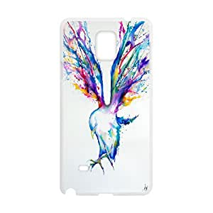 Dustin Achilles Cases for Samsung Galaxy Note 4, with White