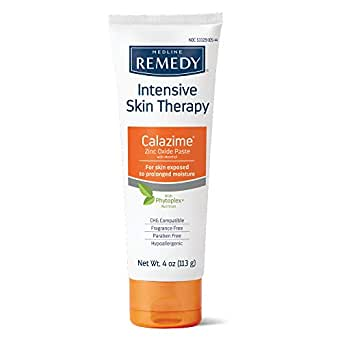 Medline Remedy Phytoplex Calazime Skin Protectant, Fragrance Free, Paraben Free, 4oz