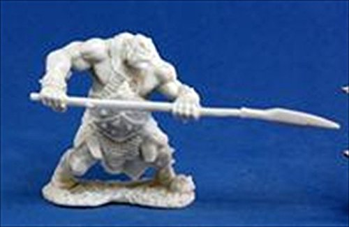 Reaper Orc Hunter with Spear 77045 Miniatures ()