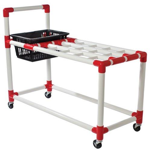 BSN Racquet Cart