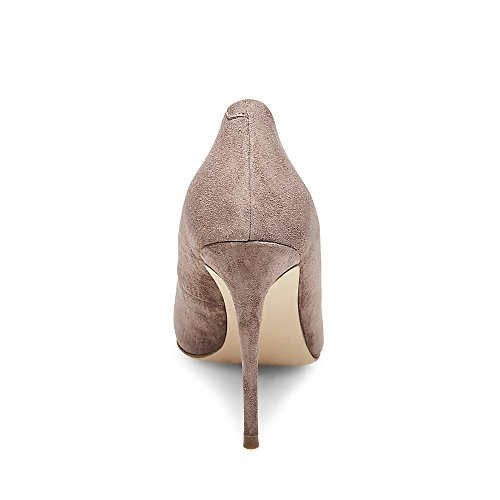 Daisie Steve Dress Grey Women's Pump Suede Light Madden 7vqvOwfH