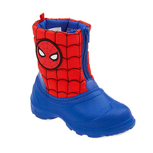 Marvel Spider-Man Rain Boots for Kids (12) Blue and Red