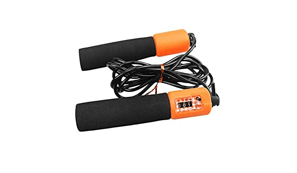 GFGHH Adjustable Jump Rope with Accurate Counter Ultra-Safe ...