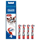 Oral B EB10B4SW Power Kids Stages Starwars Replacement Toothbrush Heads - Pack of 4