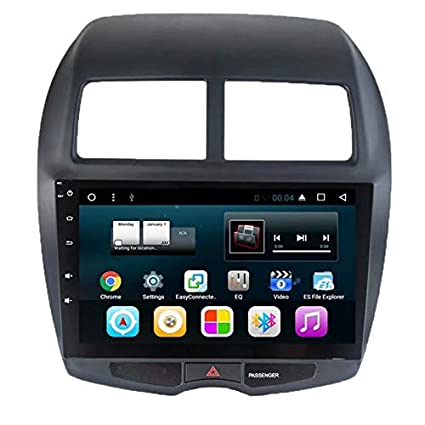 TOPNAVI 2GB Quad Core Anroid 7.1 Car Table for Mitsubishi ASX 2013 2014 2015 2016 2017