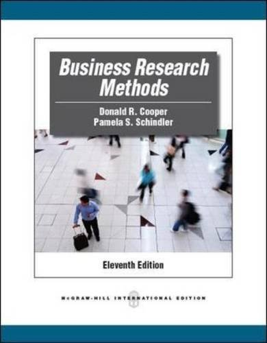 Business Research Methods Eleventh, 11th Edition
