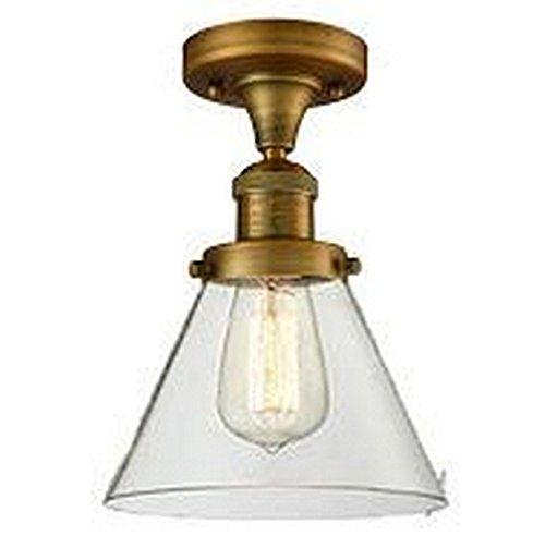 One Light Semi Flush Mount Innovations - Innovations Lighting 517-1CH-BB-G42