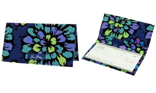 Vera Bradley Checkbook Cover - Vera Bradley Checkbook Cover in Indigo Pop