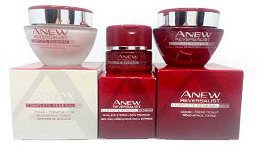 AVON Anew Reversalist Complete Renewal : Eye Cream + Day Cream + Night Cream SET !