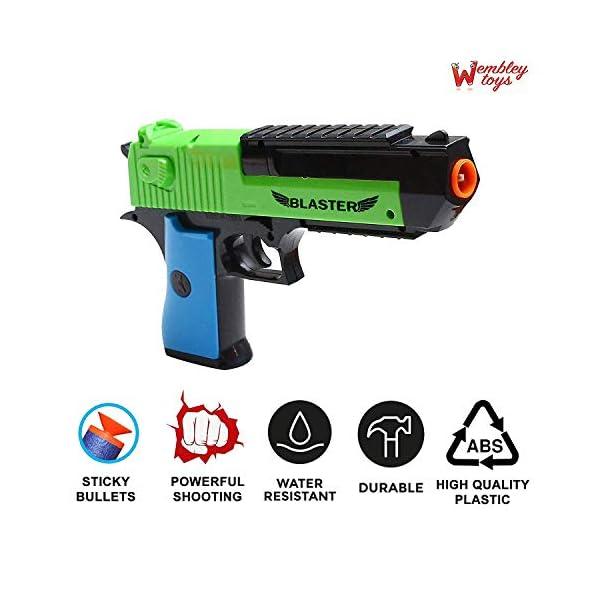 Wembley Toys Blaze Storm Hot Fire Nerf Shooting Gun Toy (Blaster)