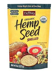 Hempseed, 95% Organic Shelled 19oz (6-Pack)