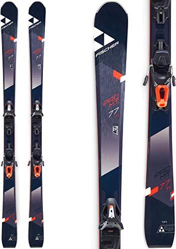 Fischer Pro MTN 77 Ti Skis w/RS 10 PR Bindings Mens
