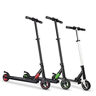 Totalshop High Speed Electric Scooter for Kids and Adults Ultra-Lightweight Easy Carry Foldable Electric Kick Scooter