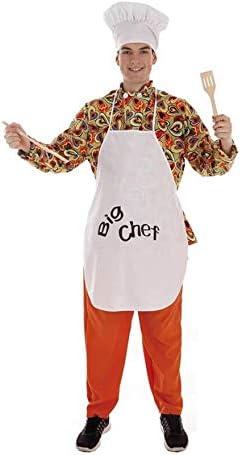 Creaciones Llopis Disfraz de Cocinero Big Chef para Hombre: Amazon ...