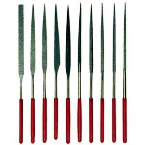 Quality Diamond Needle Files 10pc Jeweler Lapidary Tool ..... Best Seller on Amazon!