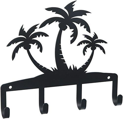 7.75 Inch Triple Palm Trees Key Holder