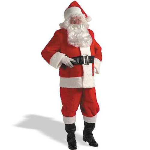 Kris Kringle Santa Claus Suit 3X Costume by Halco