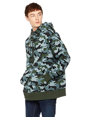 Something for Everyone Men's Pullover Fleece Hoodie X-Large Camo Print (Fleece Print Hoody)