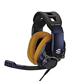 EPOS I Sennheiser GSP 602 – Wired Closed Acoustic Gaming Headset, Noise-Cancelling Microphone, Adjustable Headband with…