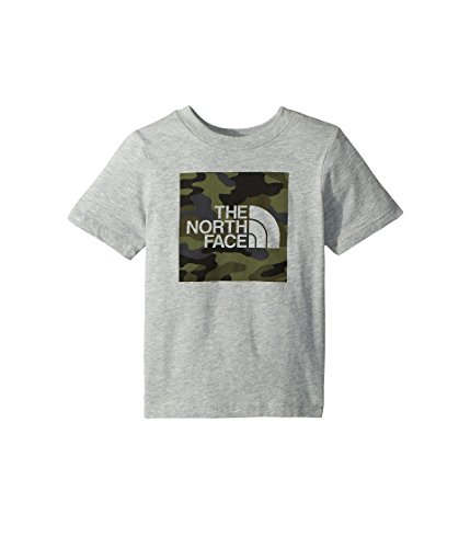 Print Jersey North The Face - The North Face Todd SS Graphic Tee - TNF Light Grey Heather & New Taupe Green Camouflage Print - 4T
