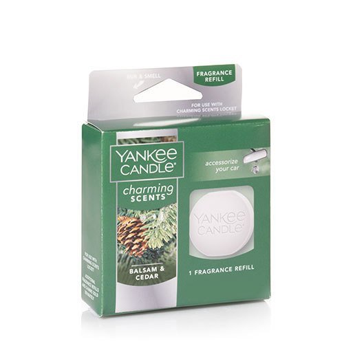 Yankee Candle Balsam & Cedar Charming Scents Fragrance Refill, Festive Scent