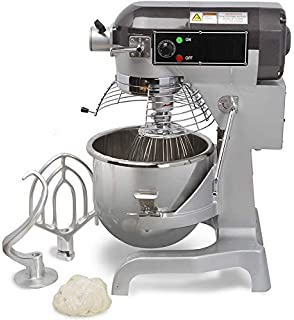 Chefs Exclusive CE744 Commercial All Purpose Gear Driven Planetary Stand Mixer with Timer 1.5 HP Motor