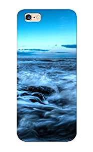 First-class Case Cover Series For Iphone 6 Plus Dual Protection Cover Fort Perch Rock Lighthouse, England Mdmabb-5831-mluichj