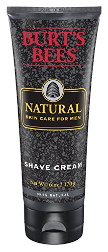 Hydrating Shaving Cream (Burt's Bees Natural Skin Care for Men Shave Cream, 6 Ounces, Pack of 3)