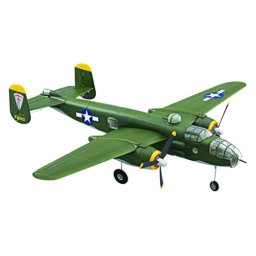 Flyzone Micro B-25 Mitchell Bomber Electric Powered Transmit...