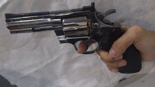 Classic,Pistol Windproof Lighter,Big Size PYTHON 357 Gun,Cigar Lighter,Refillable