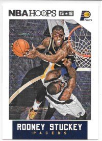 Rodney Stuckey 2015-16 NBA Hoops Indiana Pacers Card (Rodney Stuckey Nba)