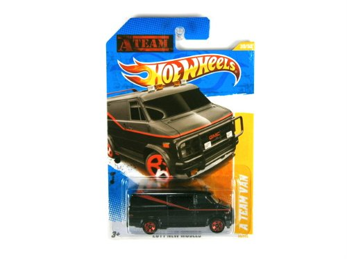 Hot Wheels The A-Team Van GMC 2011 new models die-cast 1:64 scale by ()