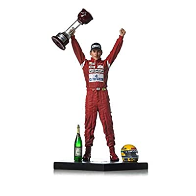 Iron Studios IS1061810 1:10 Ayrton Senna-1988 Japan GP-Art Scale Statue, Multi: Toys & Games